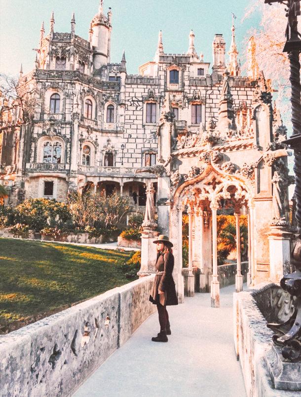 sintra architecture quinta de regaleira portugal castle